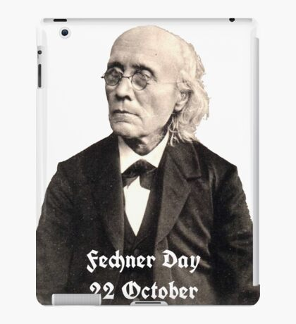 Gustav Fechner Day iPad Case/Skin