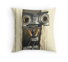 Here's Johnny 5 Throw Pillow