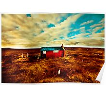 surreal bothy Poster