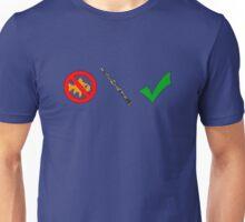 Fish-Free Oboe Check Unisex T-Shirt