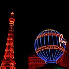 Paris in Vegas  by Linda Bianic