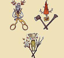OTGW Emblem Trio by Faustice