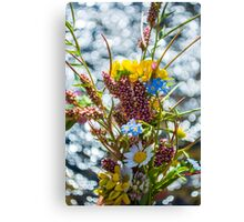 Bouquet in the Bokeh Canvas Print