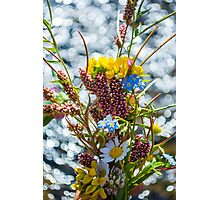 Bouquet in the Bokeh Photographic Print