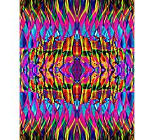 Time is but a psychedelic ripple in the fabric of existence Photographic Print