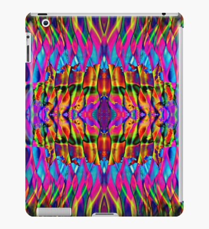 Time is but a psychedelic ripple in the fabric of existence iPad Case/Skin