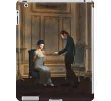 Regency Era Couple in Candlelit Ballroom iPad Case/Skin
