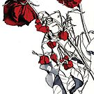 Red Roses by Helen Nehill