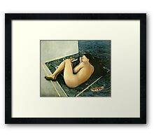 My Point of View Framed Print