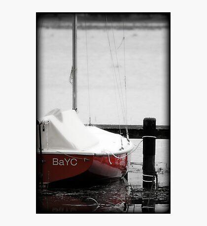 Red Hull Photographic Print