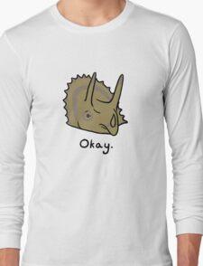 Okay Triceratops  T-Shirt