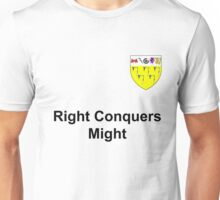 Right Conquers Might and the sigil of house wydman Unisex T-Shirt