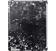Black & White Splatter iPad Case/Skin