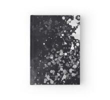 Black & White Splatter Hardcover Journal