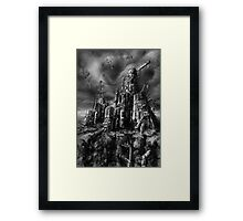 Angry Outpost Framed Print