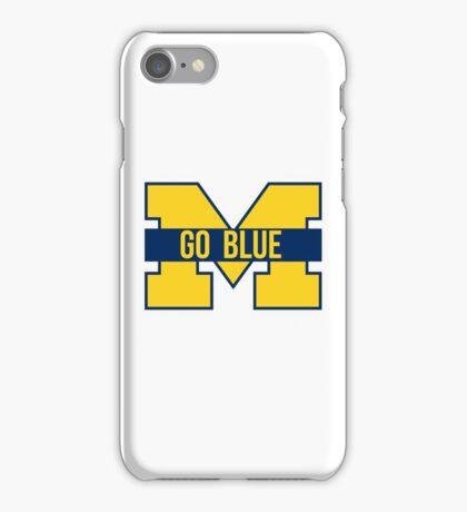 go blue iPhone Case/Skin