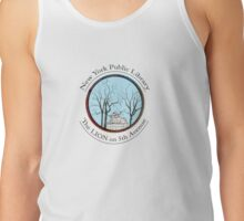 Guardian of the NYC Library * Tank Top