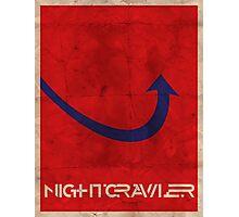 Minimalist Nightcrawler Photographic Print
