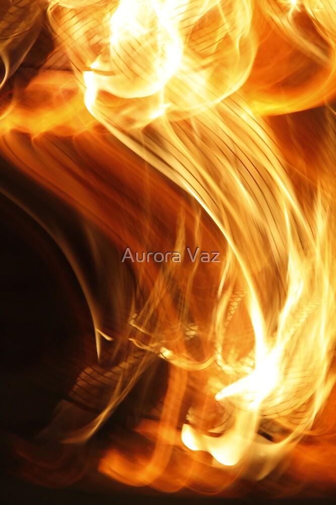 Fire Flame by Aurora Vaz