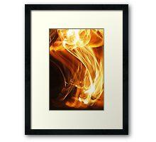 Fire Flame Framed Print