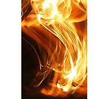 Fire Flame Photographic Print