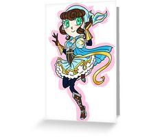Magical Girl 1 Greeting Card