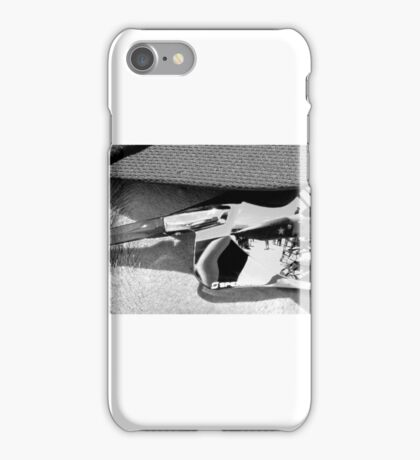 plane on the brain iPhone Case/Skin