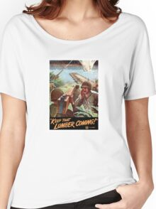 Keep That Lumber Coming -- WWII Women's Relaxed Fit T-Shirt