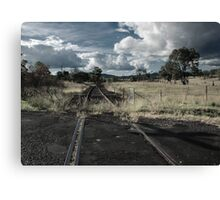 Look Out For Trains Canvas Print
