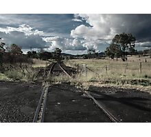 Look Out For Trains Photographic Print