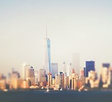 New York City Skyline with One World Trade Center by Vivienne Gucwa