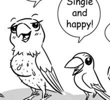 Special need birds Sticker