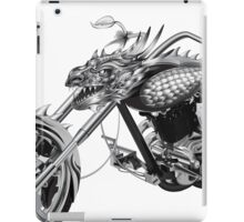 Dragon Rider Bike iPad Case/Skin