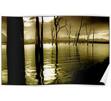 Lake Moogerah Mood Poster