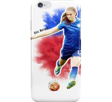 alex morgan red white and blue iPhone Case/Skin