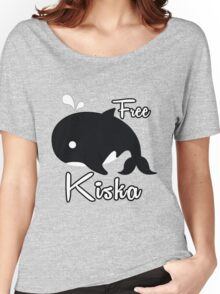 Support - Free Kiska Women's Relaxed Fit T-Shirt