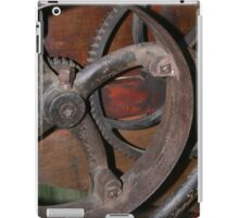 Old Farm Equipment Gear iPad Case/Skin