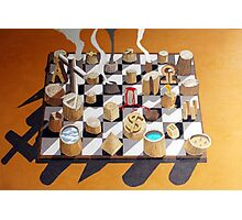Surreal Chess Photographic Print