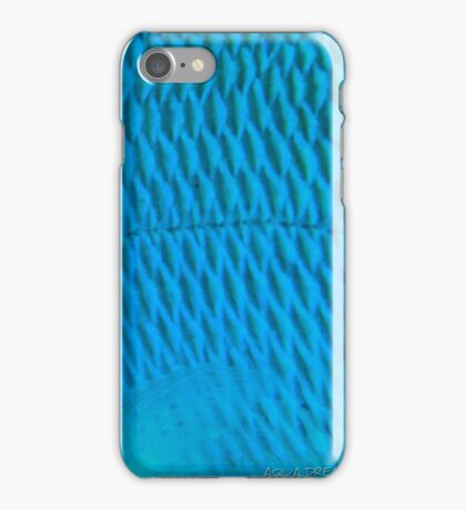 Blue Scale iPhone Case/Skin