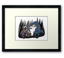 Dark-Type Pokemon Framed Print
