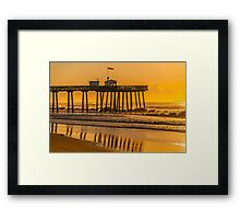 *********** OCEAN CITY FISHING PIER *********** Framed Print