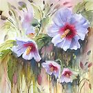 Rose of Sharon by bevmorgan
