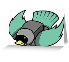Bird Dive Greeting Card