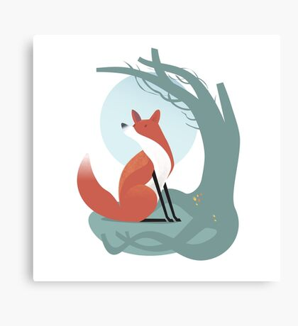 Foxes have holes Canvas Print