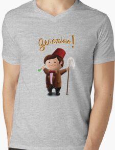 Little Wees - Doctor Who, Eleventh Doctor Mens V-Neck T-Shirt