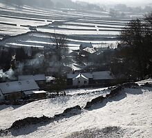Winter In Wharfedale by SteveMG