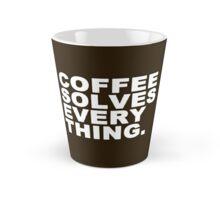 Coffee Solves Everything Tall Mug