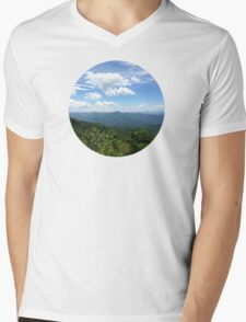 Blue Ridge Earth Mens V-Neck T-Shirt