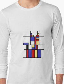 Mondrian's cat Long Sleeve T-Shirt