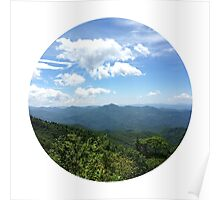 Blue Ridge Earth Poster